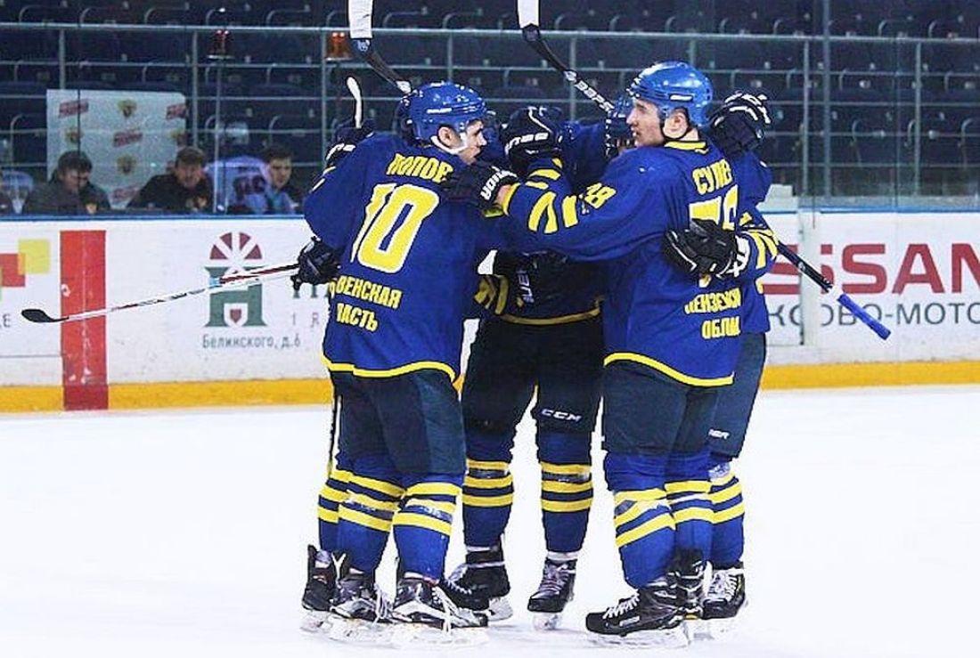 «Дизелист» из Пензы выиграл первый матч финала Кубка регионов по хоккею