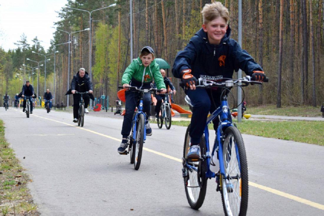 Пензенские школьники стали участниками велопробега в честь Дня Победы