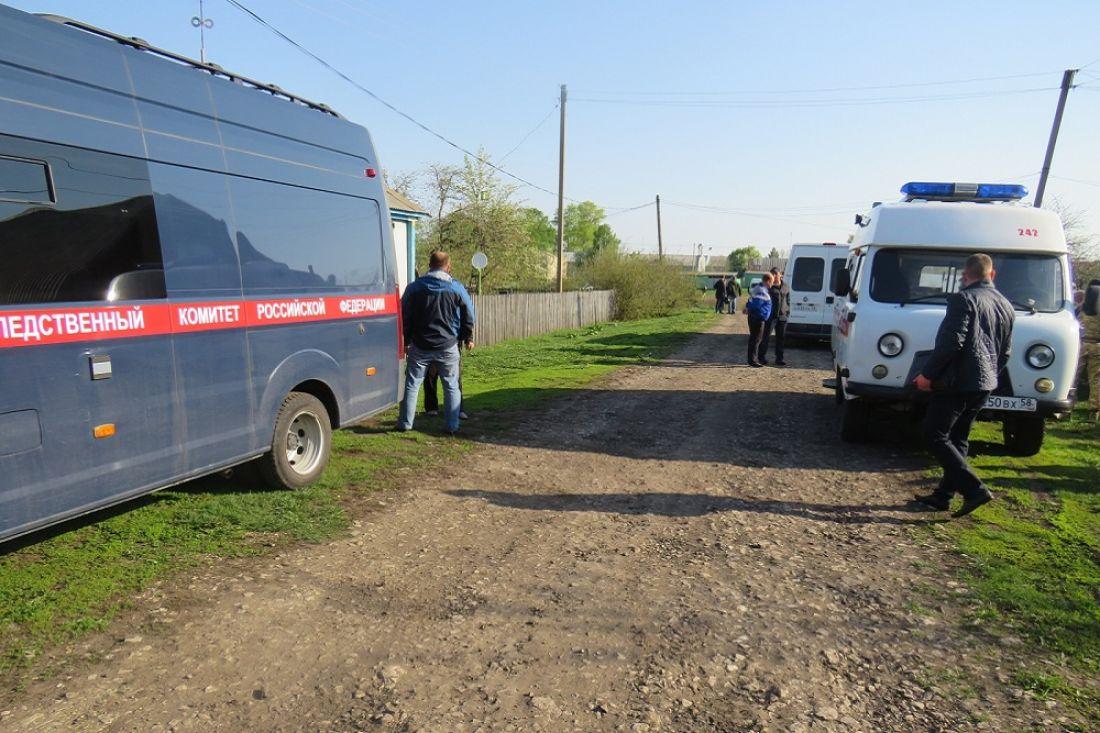 Опубликованы фото с места жестокой расправы в Малосердобинском районе