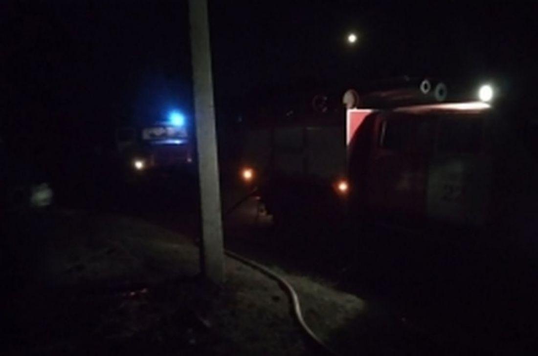Пензенское МЧС сообщает о нескольких пострадавших в большом пожаре