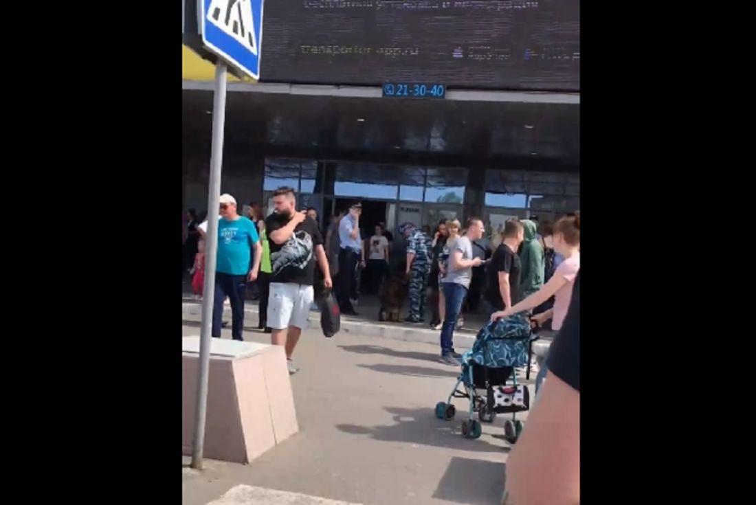 В Пензе из торгового центра эвакуировали посетителей